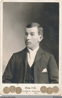 Photograph of Frederick Taws