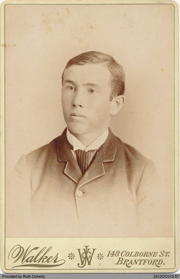 Photograph of Henry Taws