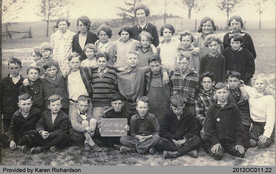 Students of Onondaga School Section No. 2