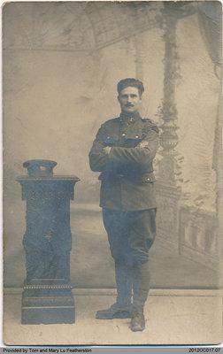 Harris Edward Featherston, 1918