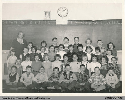 Students of Onondaga School Section No. 5