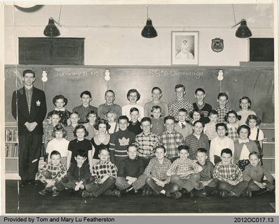 Students of Onondaga School Section No. 6