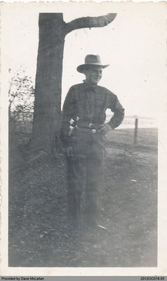 Bill Wood as a Young Man
