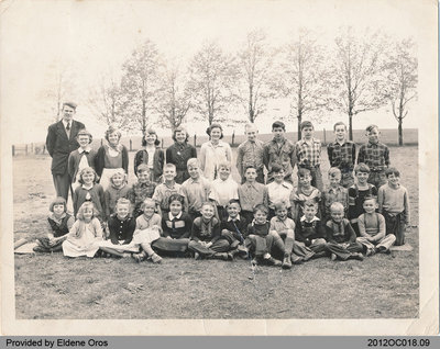 Students of  Middleport School Section No. 2