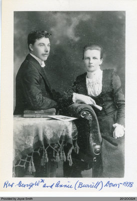 Reverend George Down and Mrs. Annie Down
