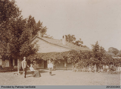 VanSickle House in the Late 1890s