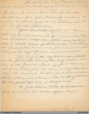 Hand-Written Mulligan History