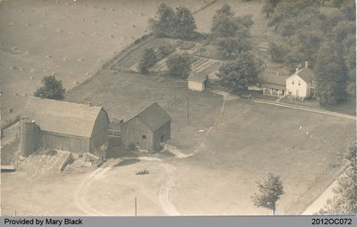 Aerial View of Black's Farm