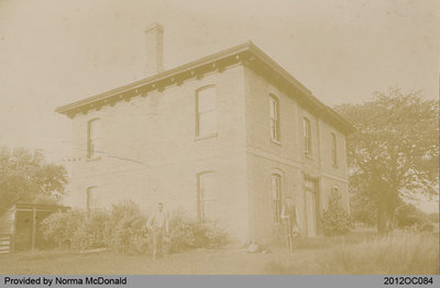 Old View of the Hamilton House