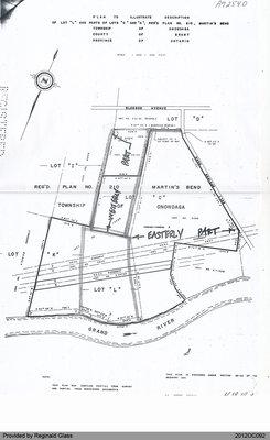 """Plan of Lot """"L"""" and Parts of Lots """"C"""" and """"K"""" of the Township of Onondaga"""