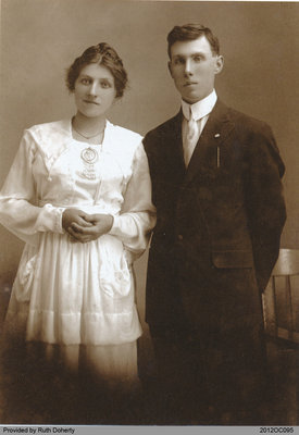 Photograph of William Clarence Taws and Nettie McLellan