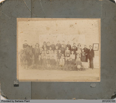 Students of School Section No. 6 in Onondaga, 1897