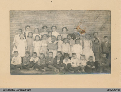 Students of School Section No. 6, 1912