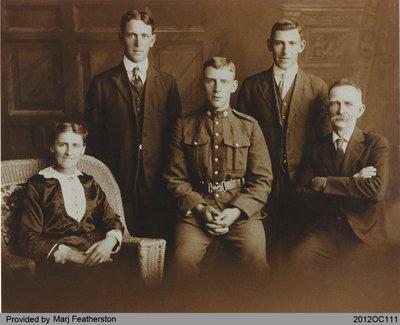 Featherston Family Photo