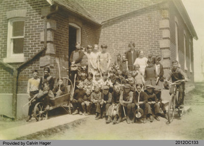Students of the Middleport School