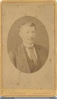 Photograph of Erastus Hager