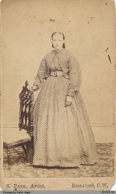 Photograph of Julia Anna Hager