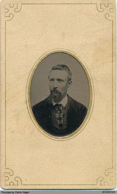 Photograph of Ezra Hager
