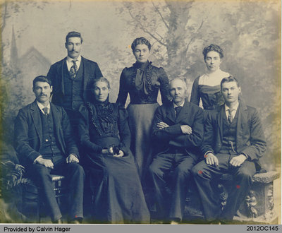 Hager Family Photograph