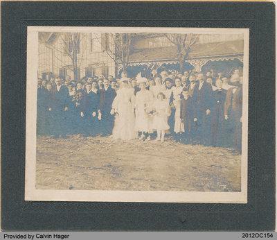 Wedding Photo of John Deagle and Ethel Axon