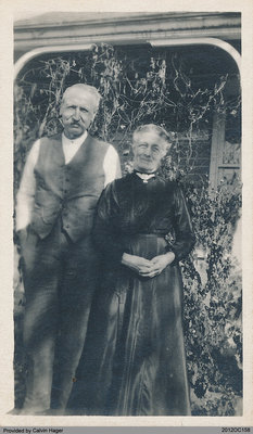Photograph of Philip and Charlotte Butler