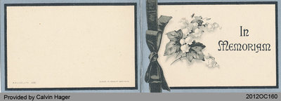 Funeral Card of Ethel Beatrice Axon