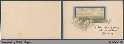 Funeral Card of Lucy Kew