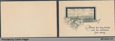 Funeral Card of Charles Edward Deagle