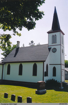St. Paul's Anglican Church in Middleport