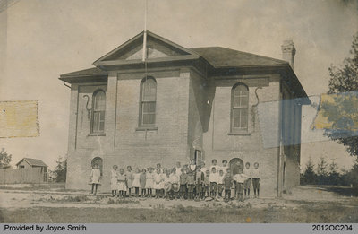 S. S. No. 6 School in Onondaga Township