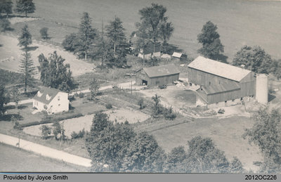 Aerial View of the Farm at 227 County Rd. 18
