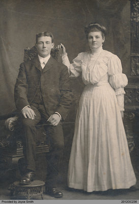 Photograph of James Craig Black and Clara Belle Richardson