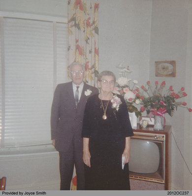 Photograph of Jim and Belle Black