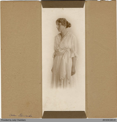 Photograph of Ada Edwards