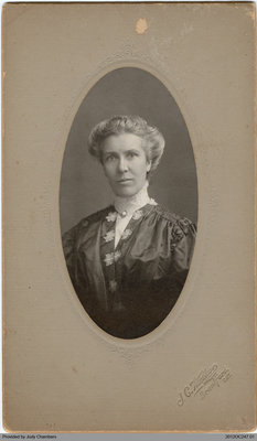 Photograph of Mrs. King