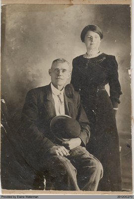 Photograph of Lemuel and Mary Anne Cresswell