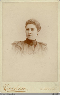 Photograph of Jennie Hamilton