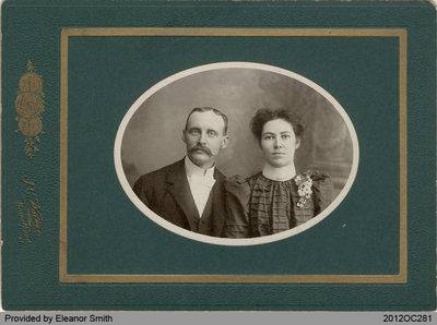 Photograph of Abraham and Jennie VanSickle