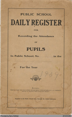 Public School Daily Register