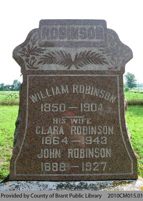 Robinson Family Headstone
