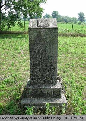 Burtis Family Headstone