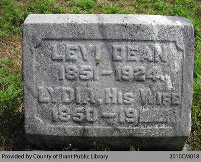 Dean Family Headstone