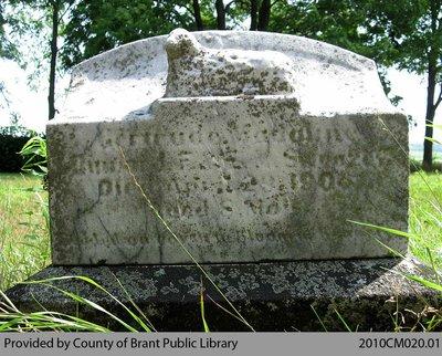 Hatchley Cemetery Headstone 2-3