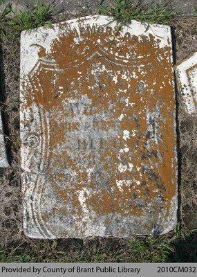 Kelvin Cemetery Headstone 1-8