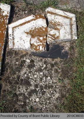Kelvin Cemetery Headstone 1-9