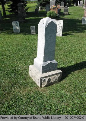 Dutcher Family Headstone (Range 2-3)