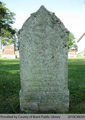 Fairfield Cemetery Headstone 2-10