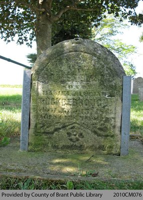 Fairfield Cemetery Headstone 4-1