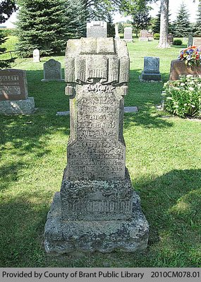Buckberrough Family Headstone