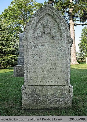 Fairfield Cemetery Headstone 6-2